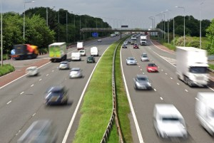 The road improvements are expected to significantly improve the commute time between Edinburgh and Glasgow