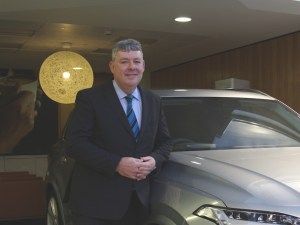 Selwyn Cooper, head of financial services for Volvo Car UK