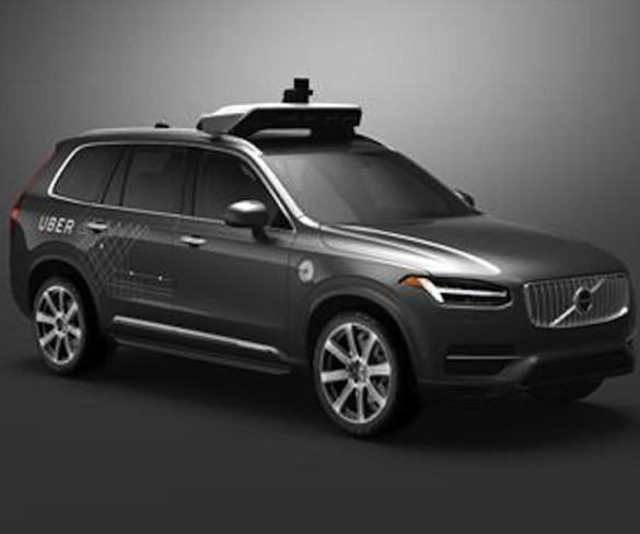 Volvo and Uber to develop driverless cars