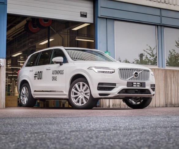 Volvo kicks off Drive Me autonomous project