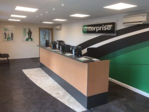 The new Enterprise branch at Bicester