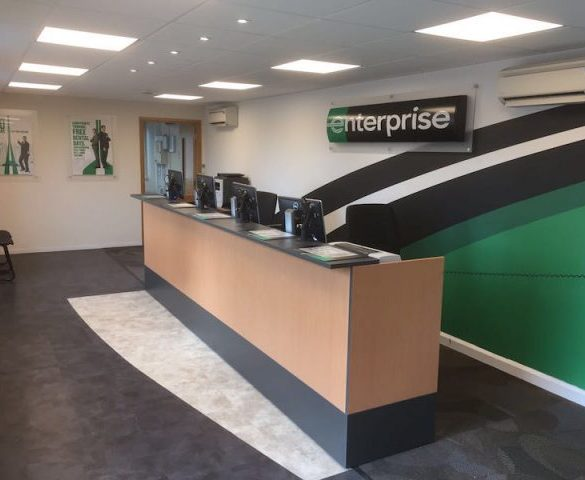 New Enterprise Rent-A-Car branch in Bicester