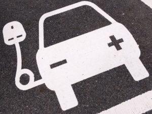 Charging point symbol