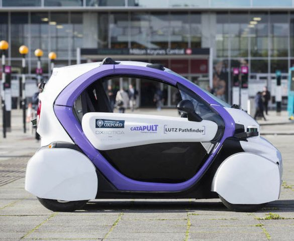 First public trials of self-driving cars start in UK