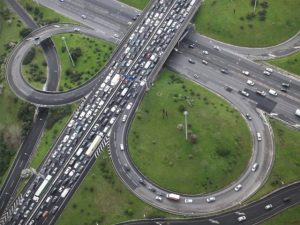 Congested road. Image: TomTom