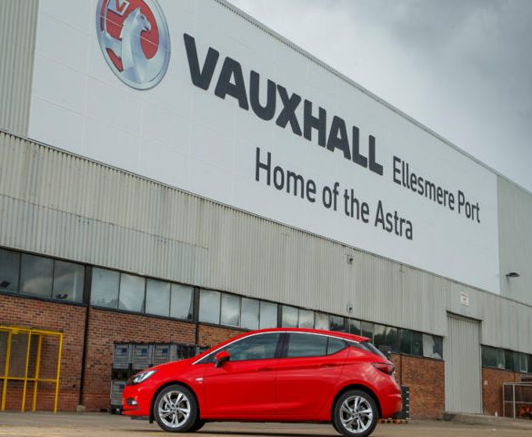 Vauxhall's Ellesmere Port plant to restart production
