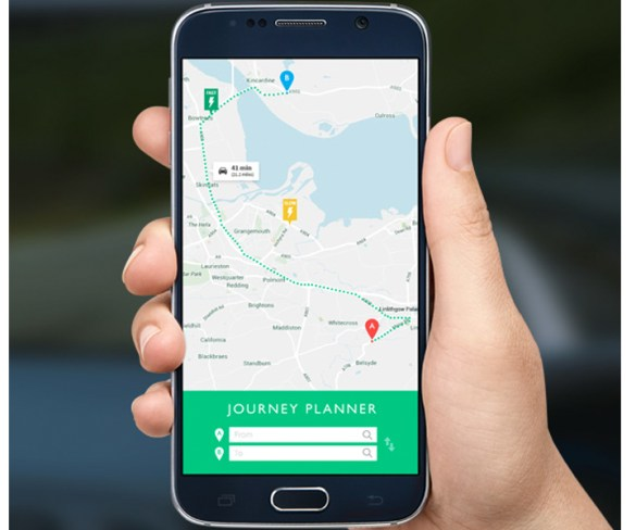 New web app offers routing for EVs