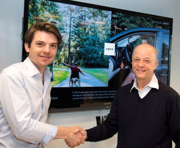LeasePlan and Uber sign pan-European partnership