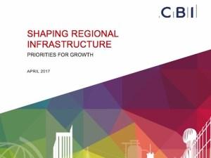 CBI report on 'Shaping Regional Infrastructure'
