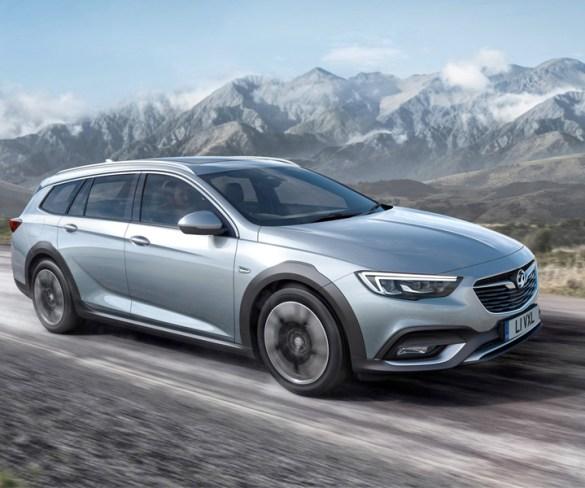 Vauxhall previews Insignia Country Tourer