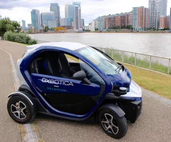 Driverless vehicle trials to take to roads under latest government funding