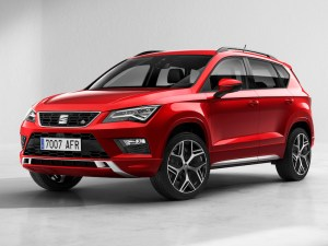 SEAT's Ateca FR will feature all-wheel drive as standard on all 2.0-litre engines.