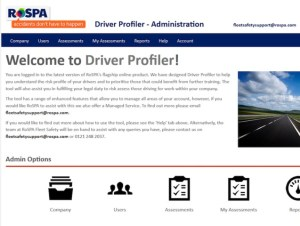 The RoSPA tool is designed to measure the attitude and behaviour of drivers via a questionnaire that investigates the individual's history and the type of driving they do.