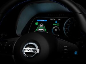 The new ProPILOT Park tech debuting on the 2018 LEAF is part of the Nissan Intelligent Mobility technology approach.