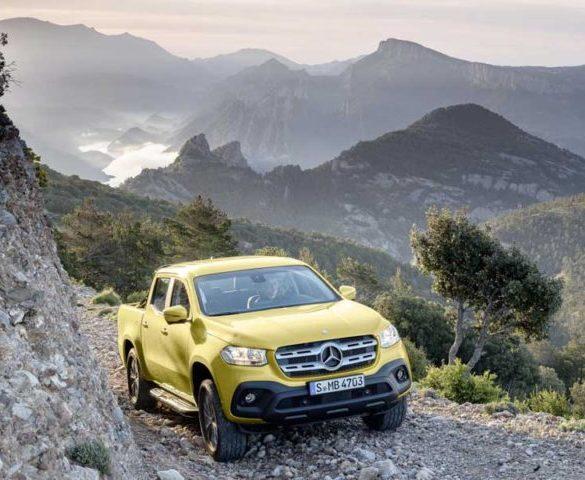 Spotlight: Mercedes X-Class makes its worldwide debut