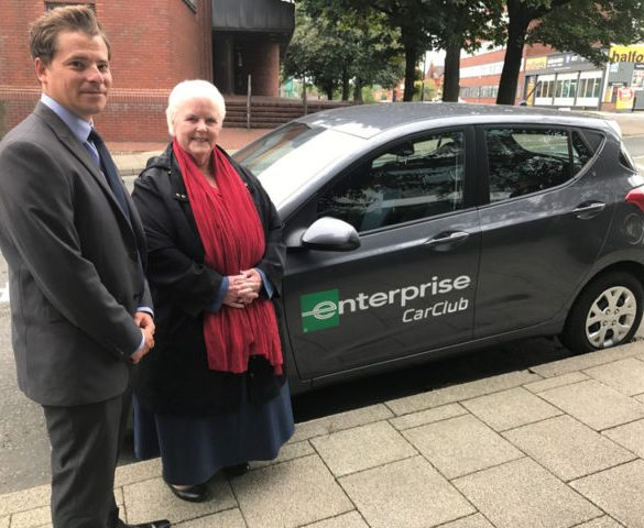 Enterprise launches car club programme in Stockport
