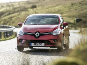 Facelifted Renault Clio