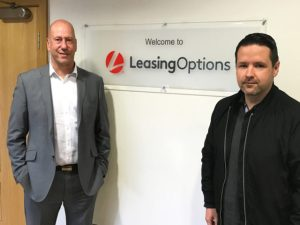 Andy Houston (left) and Stuart Athay (right) of Leasing Options