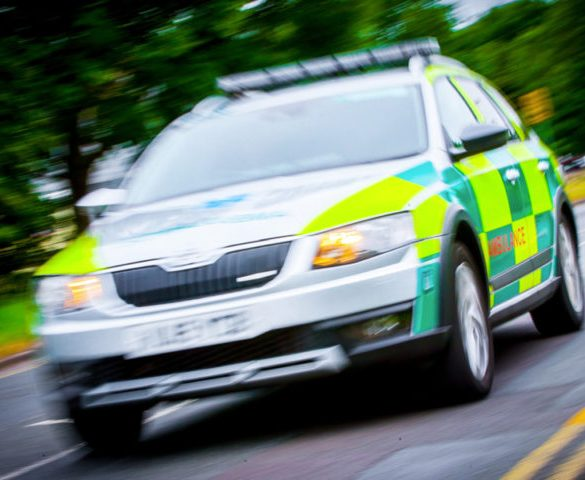 Ambulance fleet to save time and money using CrossClimate+ tyres