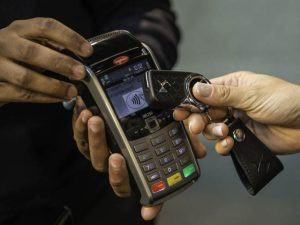 The DS contactless payment car key