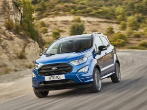 The facelifted Ford EcoSport