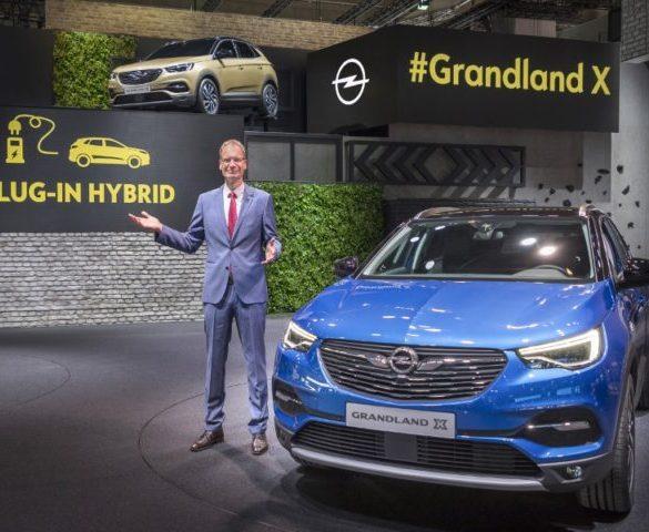 Grandland X will be Vauxhall's first plug-in hybrid