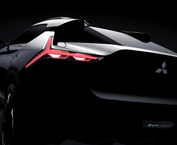 Mitsubishi teases all-electric SUV coupé concept