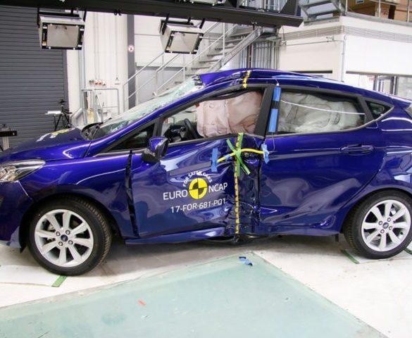 Five Euro NCAP stars for Fiesta, CX-5 and Grandland X