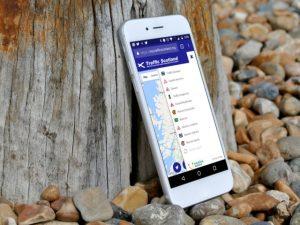 New Traffic Scotland mobile site