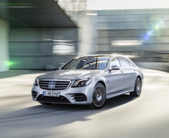 Updated S-Class previews longer-range, faster-charging PHEVs