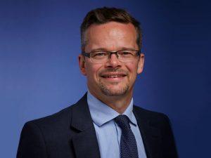 Justin Benson, new UK head of automotive at KPMG.
