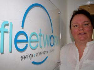 Jodie Pritchard, head of operations at Fleetworx