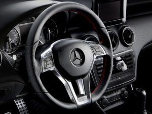 Mercedes-Benz steering wheel