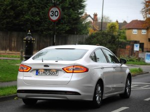 Ford test car in UKAutodrive public road trials