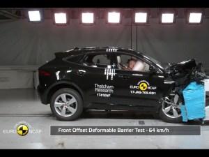 Jaguar's E-Pace scored five stars in the latest Euro NCAP crash tests