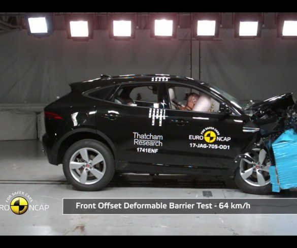 E-Pace and DS7 Crossback score five-star Euro NCAP ratings
