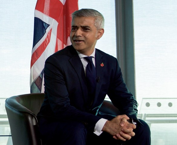 London Mayor marks ULEZ as key in green ambitions