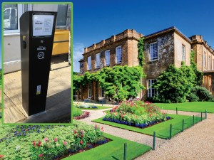 EV charge points prove popular with customers at hotel chain