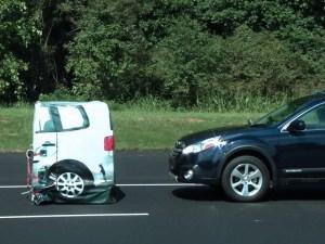 autonomous emergency braking test