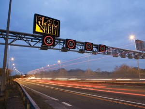 Traffic lights trials on motorway link roads may ease congestion