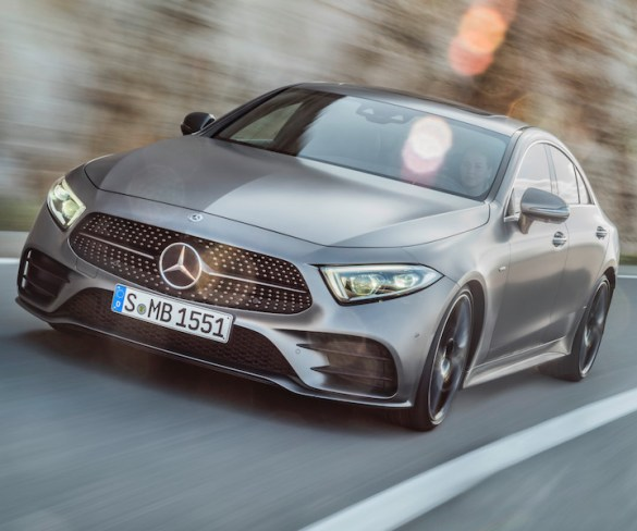 Pricing revealed for new Mercedes-Benz CLS coupé