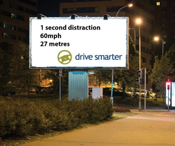 Remove distracting roadside billboards, says Drive Smarter