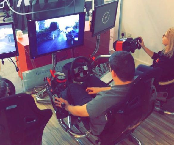 Driving simulators highlight dangers of driver distractions