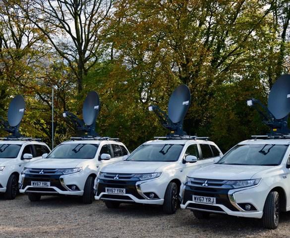 First hybrids join ITV fleet