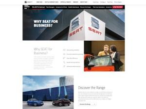 SEAT Fleet Website