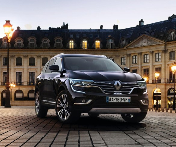 Renault Koleos now available with luxury-focused top trim