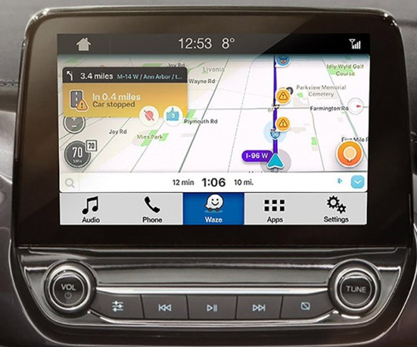 Ford's SYNC 3 equipped vehicles get Waze navigation