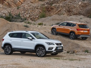 SEAT Ateca (shown) and Leon are credited with the companies growth in 2017