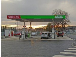 Up to 2ppl have been taken off Asda's national unleaded and diesel prices