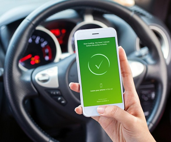 BP app enables drivers to pay for fuel from car